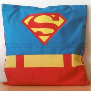 almofada super homem - queroTSHIRT