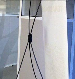 X-banner estrutura - queroCRIATIVO