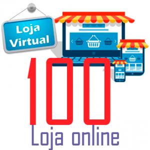 Loja online 100 - queroSITE