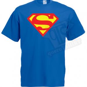 T-shirt super Homem - queroTSHIRT
